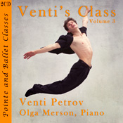 Venti Petrov - Dancer, Choreographer and Ballet Master